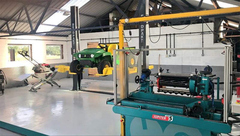 Middlewich machinery workshop Cheshire